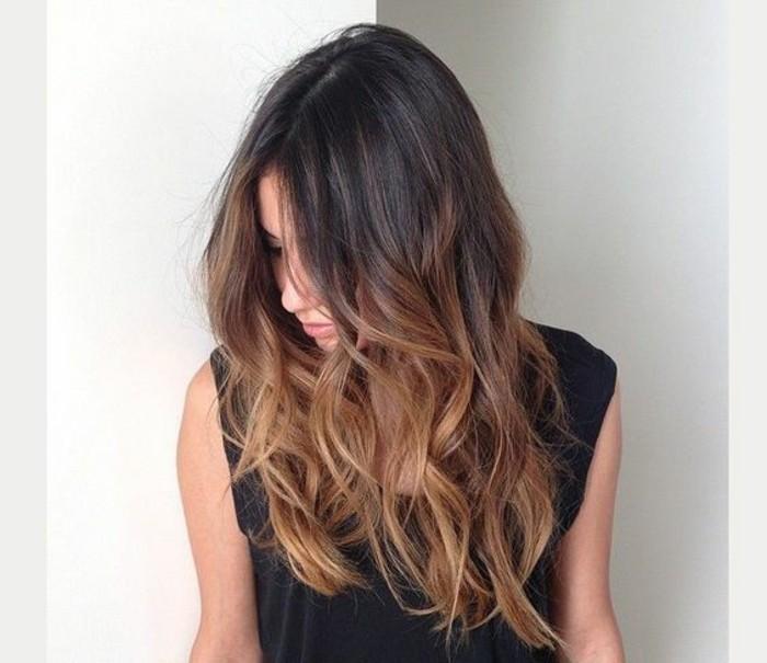Coloration pour les cheveux noir