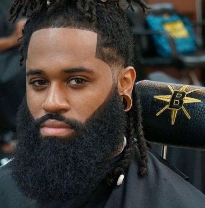 barbe-homme-noir-