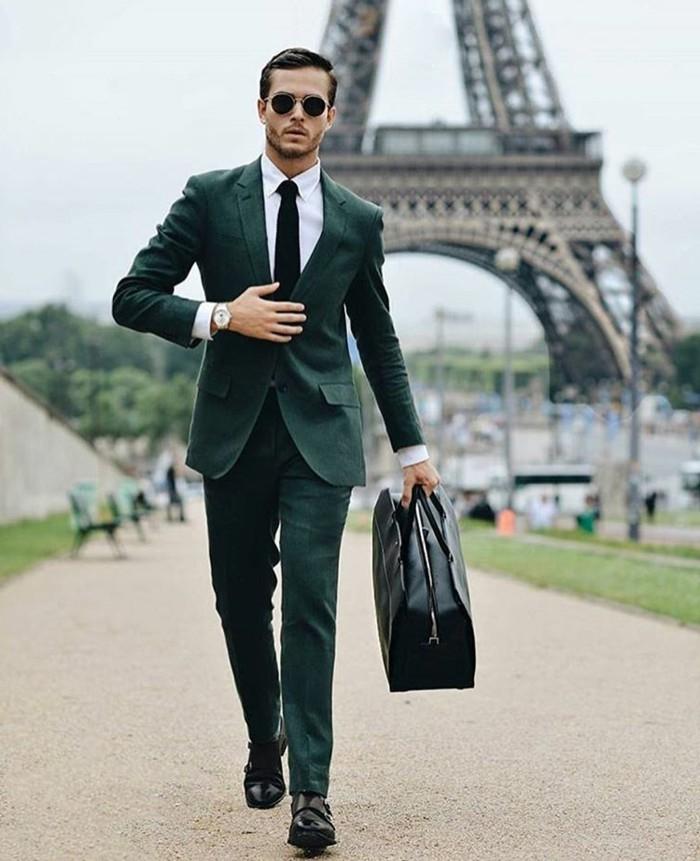 idée-costume-devred-veste-de-costume-homme-vert-costume