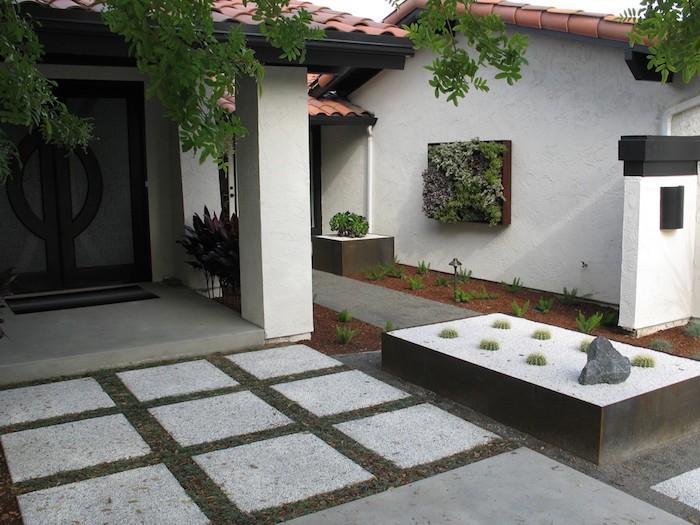 idee-amenagement-jardin-dalle-aménager-terrasse
