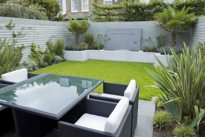Petit jardin sur sol parquet