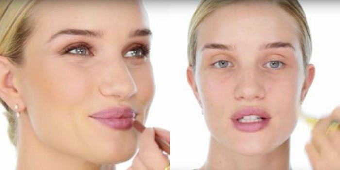 le-maquillage-de-rosie-whiteley-idees-tuto-maquillage-de-stars-maquillage-yeux-bleus