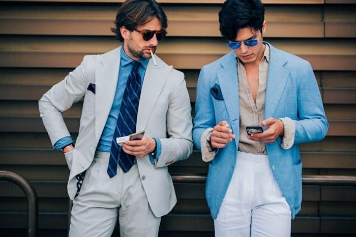 le-veston-homme-costume-bleu-roi-cool-idée-costume-vintage