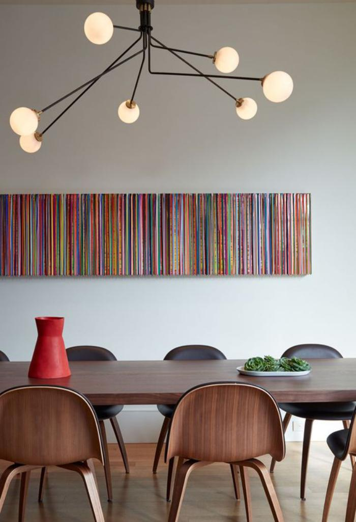 Quel luminaire de salle manger selon vos pr f rences et for Luminaire contemporain salle a manger