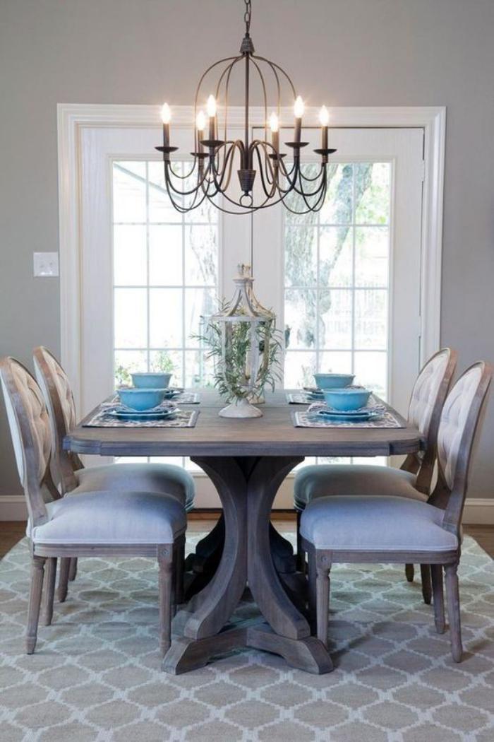 luminaire-de-salle-à-manger-chandelier-salle-à-manger-style-rustique