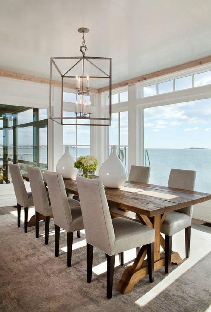 Quel luminaire de salle manger selon vos pr f rences et le style de votre i - Creer sa suspension luminaire ...