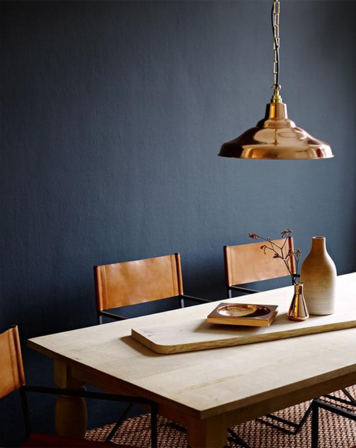 luminaire-de-salle-à-manger-couleur-bronze-éclairage-trendy-style-industriel