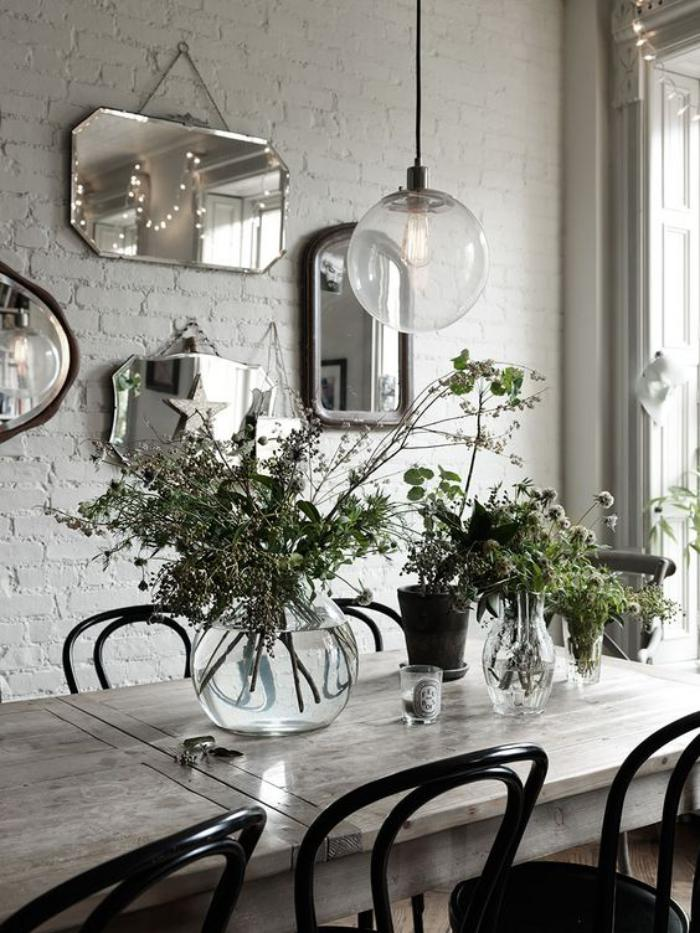 luminaire-de-salle-à-manger-lampe-boule-transparente