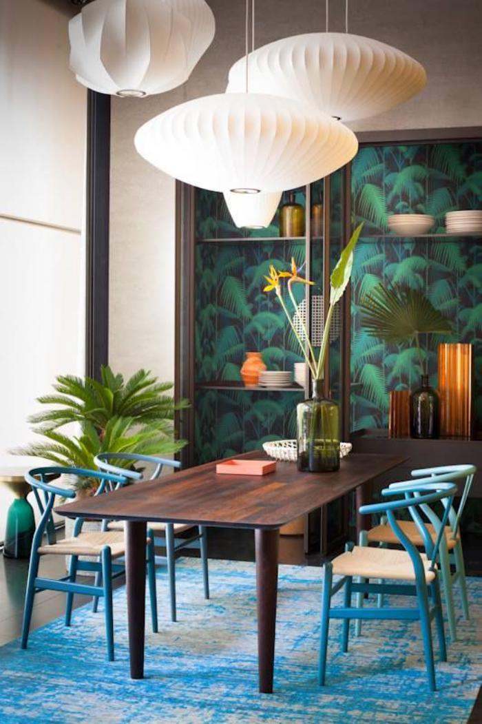 luminaire-de-salle-à-manger-lampes-origami-luminaires-pour-salle-à-manger