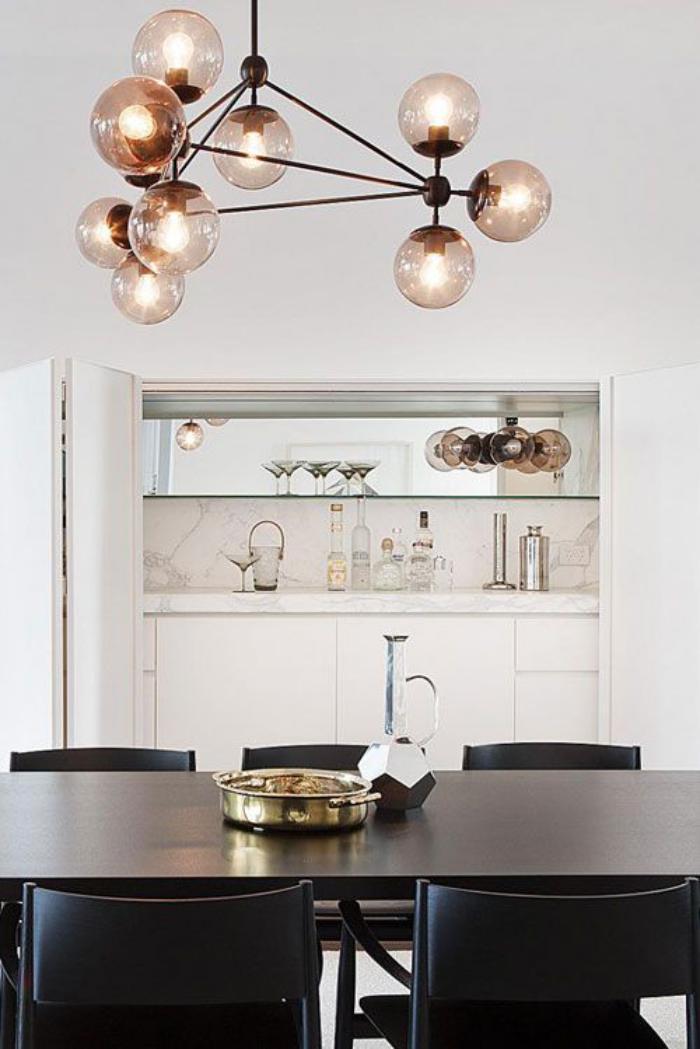 Quel luminaire de salle manger selon vos pr f rences et for Table a manger pour studio
