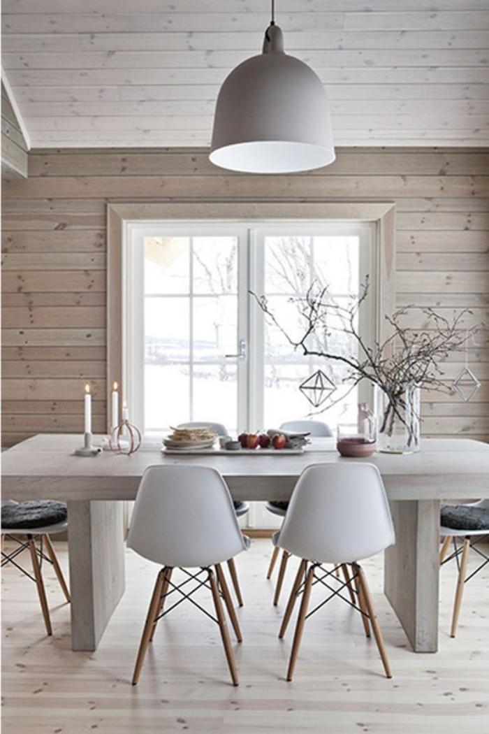luminaire-de-salle-à-manger-salle-à-manger-bois-et-blanc-style-scandinave