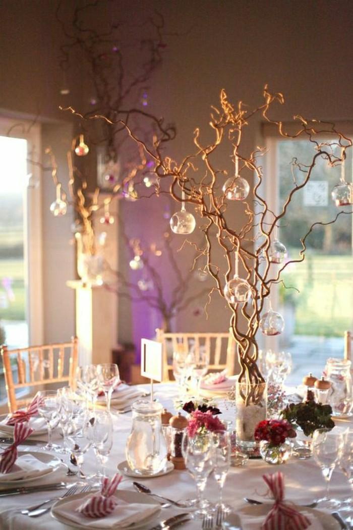 Diy d co de table mariage total 30 eur - Arbre decoratif pour mariage ...