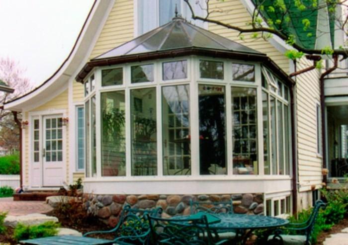 magnifique modele de veranda encastr dans une maison - Modele Veranda Maison Ancienne