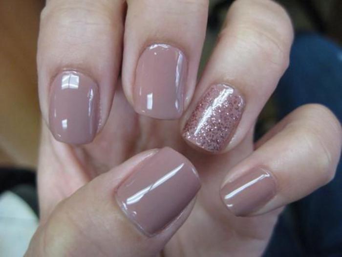 Bekannt La manucure en couleur nude - idées originales pour votre nail art  XN27