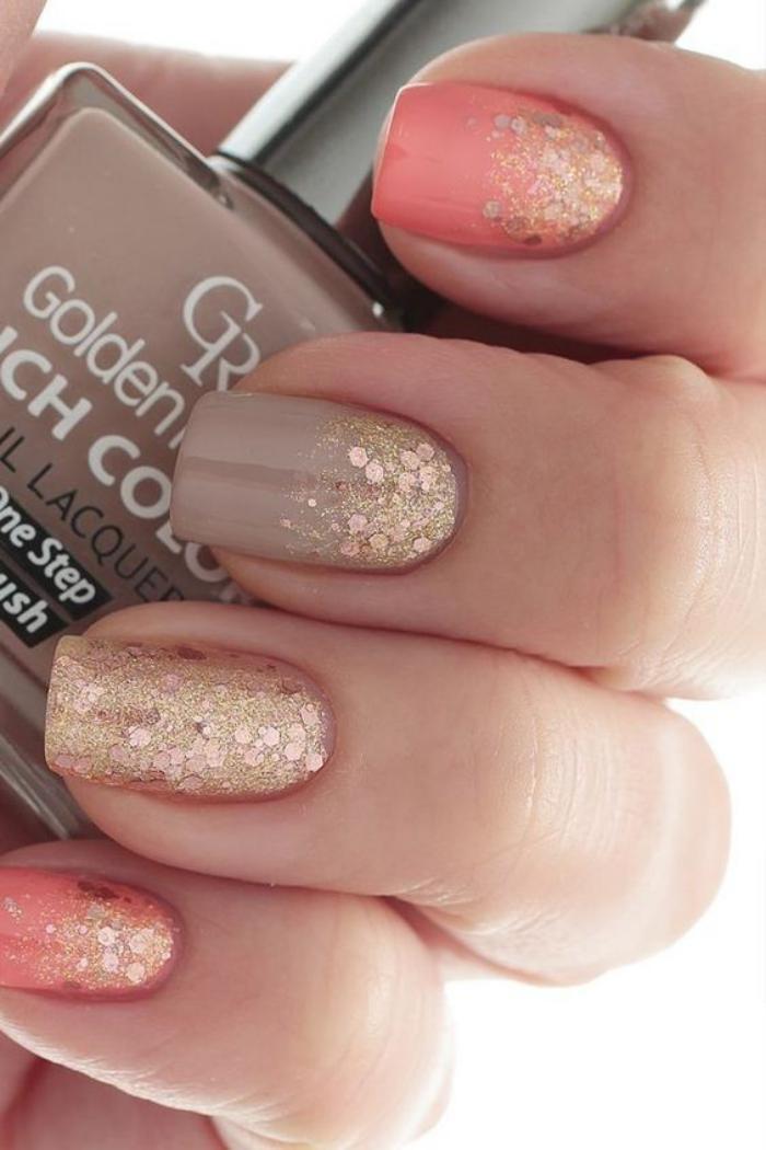manucure-en-couleur-nude-nail-ert-paillettes-rose-et-nude