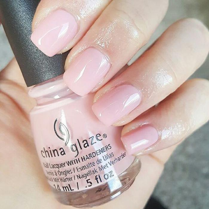 Top La manucure en couleur nude - idées originales pour votre nail art  NT42