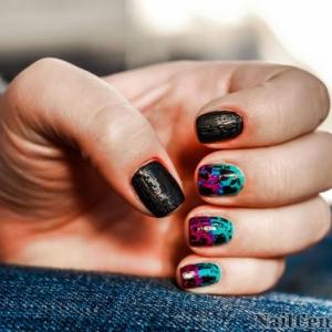 Essayez la manucure graffiti - plusieurs idées et produits pour votre nail art réussi