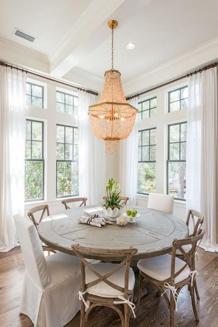 Déco et meubles shabby chic dans la salle à manger - comment créer ...