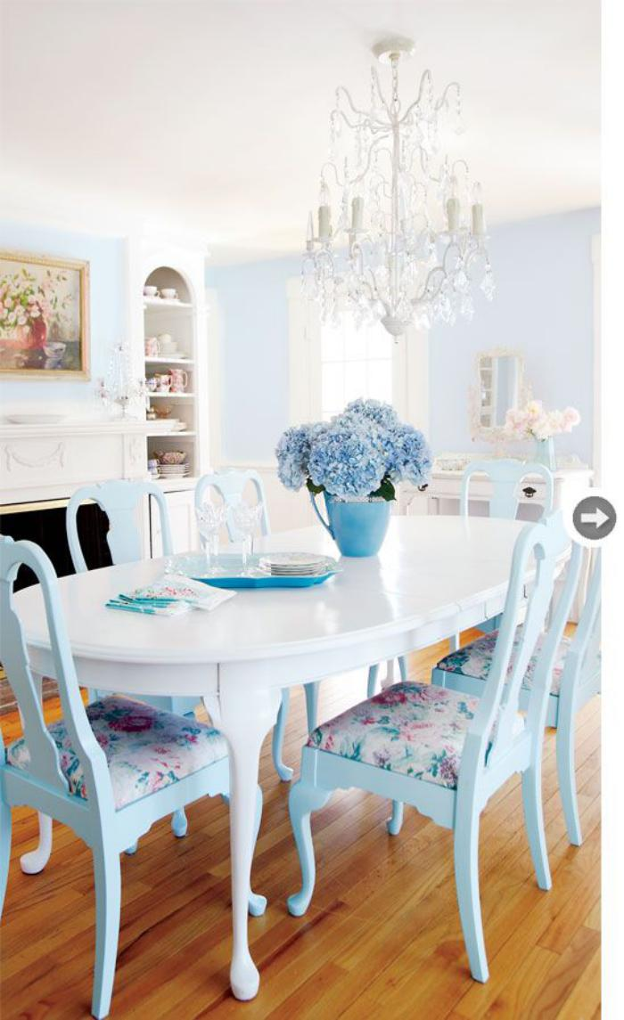 meubles-shabby-chic-déco-style-shabby-chic-chaises-bleues