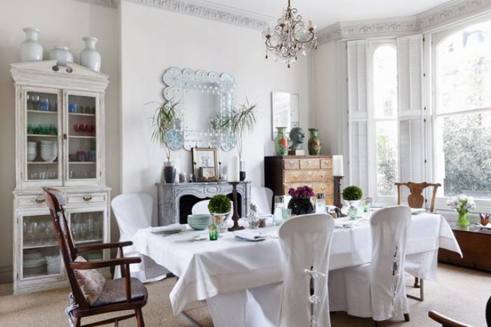 meubles-shabby-chic-salle-à-manger-style-campagne-chic