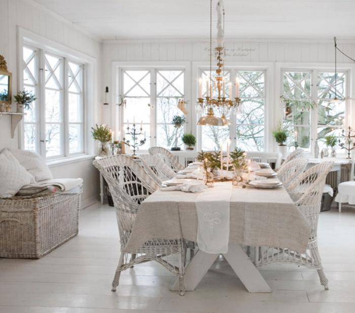 meubles-shabby-chic-salle-à-manger-style-country-chic