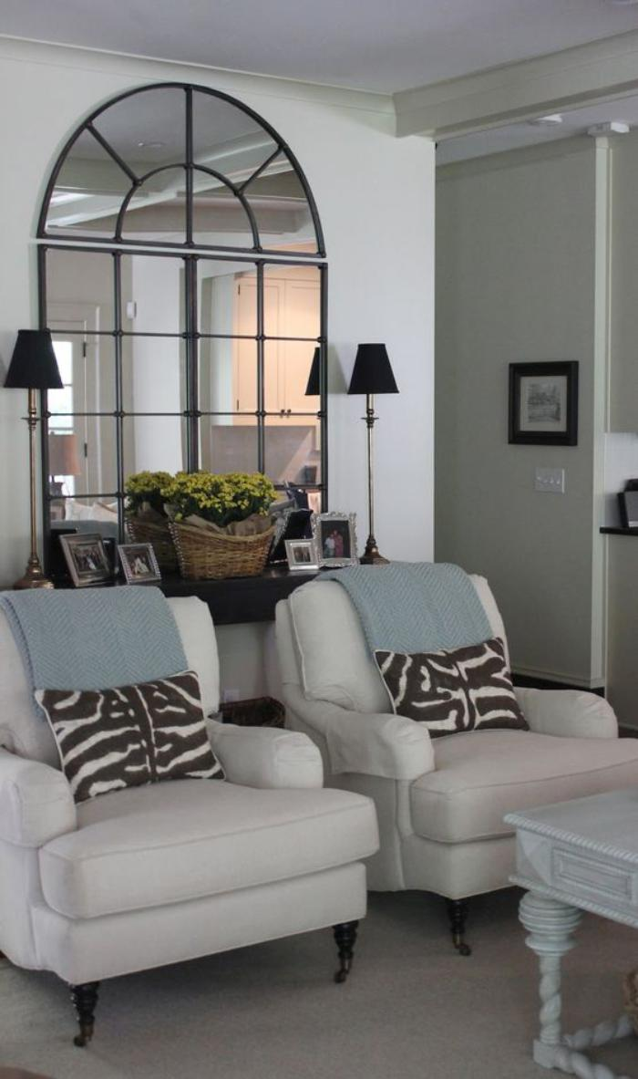 Miroir Au Dessus Canapé miroir au dessus canapé – design à la maison