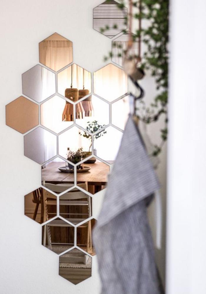 miroir-design-cire-d'abeille-création-miroir-uinique
