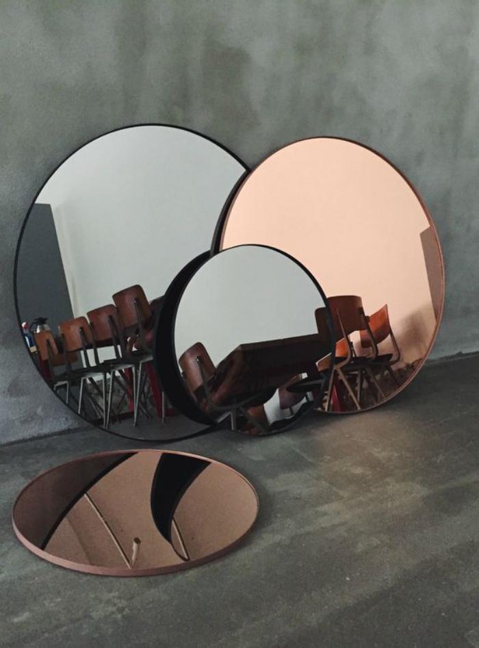 Comment r aliser une belle d co avec un miroir design for Petit miroir rond