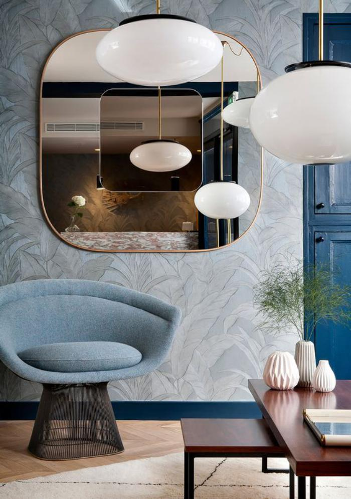 Comment r aliser une belle d co avec un miroir design for Grand miroir salon
