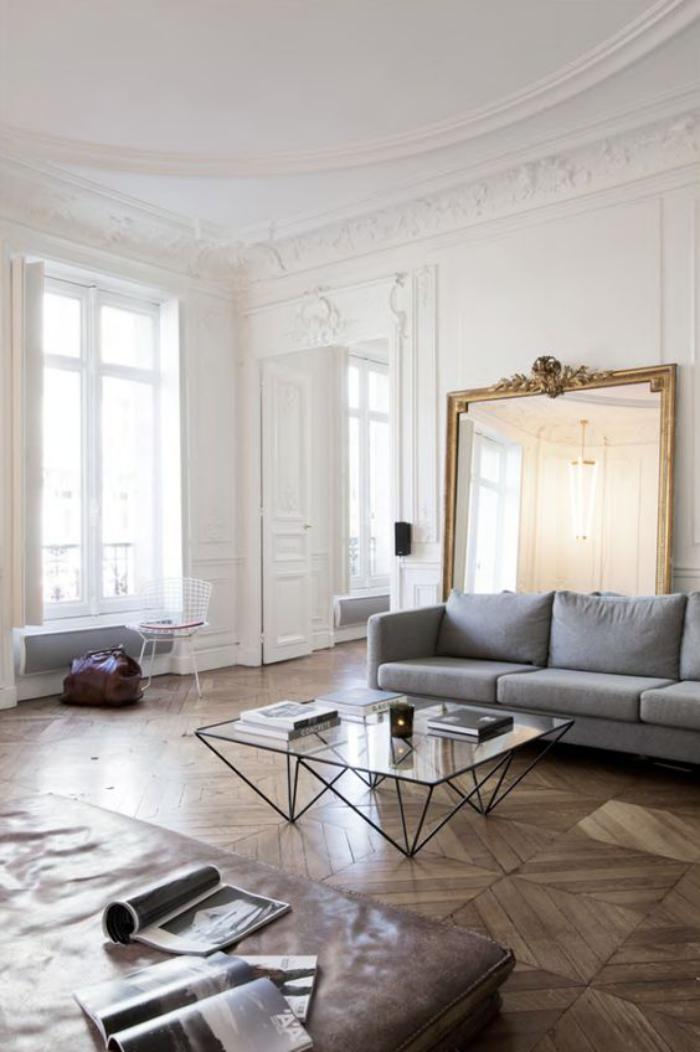 Comment r aliser une belle d co avec un miroir design for Grand miroir pour salon