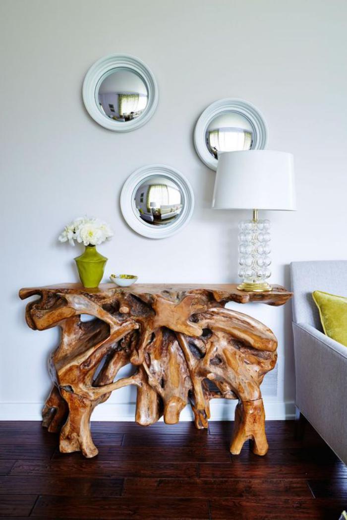 Comment r aliser une belle d co avec un miroir design for Casa miroir rond