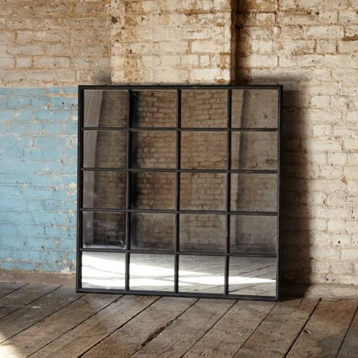 miroir-fenêtre-design-carré-décoration-avec-miroirs