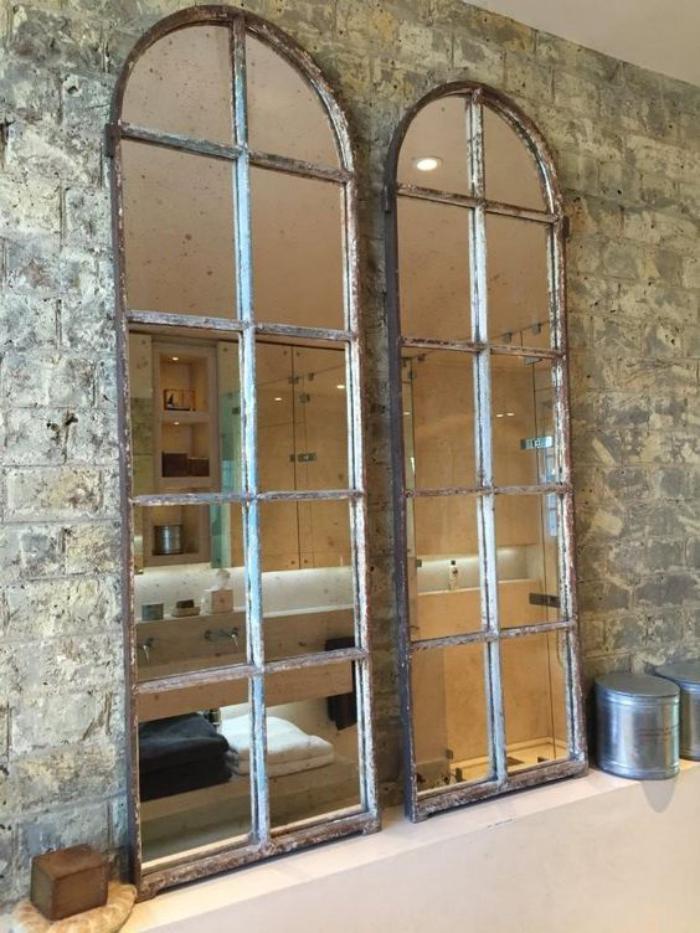 miroir-fenêtre-deux-miroirs-arcades-grand-format