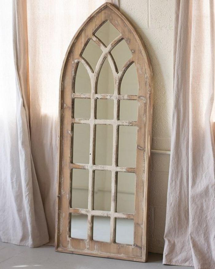 miroir-fenêtre-miraculeux-miroir-arc-bois