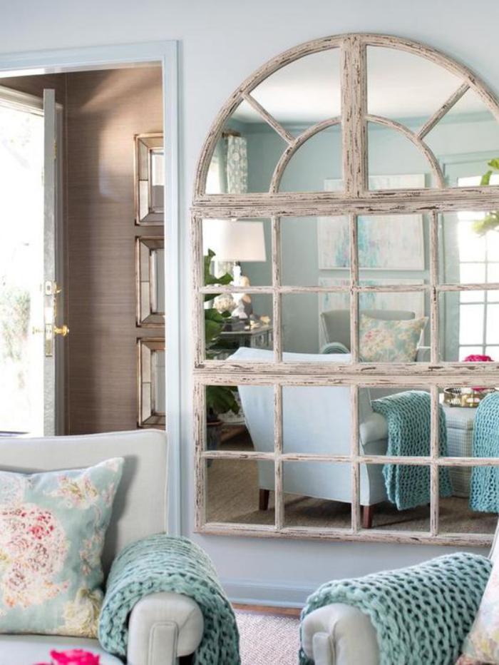 miroir-fenêtre-miroir-en-bois-arrondi-et-patiné