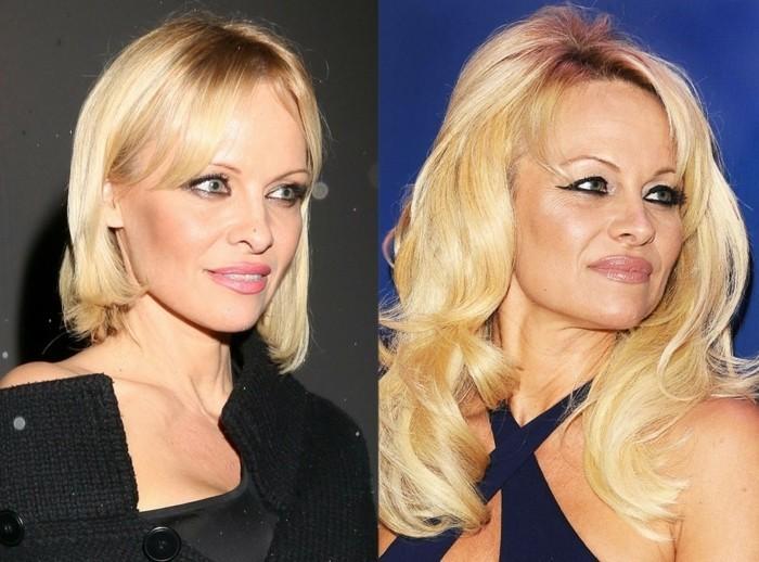 modele-de-coupe-de-cheveux-coupe-de-stars-cheveux-long-Pamela-Anderson