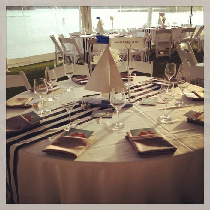 Nappe table ronde: conseils, idées et exemples de décoration en 71 ...