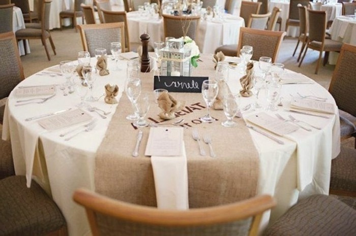 idee deco mariage table ronde