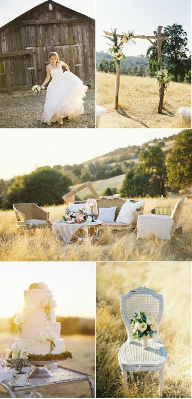 originale-idee-déco-de-table-mariage-pas-cher-style-champetre