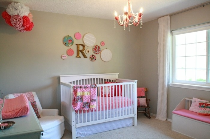 Idee Deco Chambre Bb Fille. Awesome Dco Une Chambre Bb Fille With ...