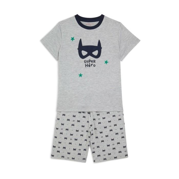 pijamas-d-été-enfant-12-99-Euros-avec-un-masque-devant-Monoprix-resized