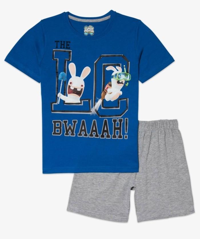 pijamas-été-enfant-14-99-Euros-Lapins-cretins-chez-Gemo-resized