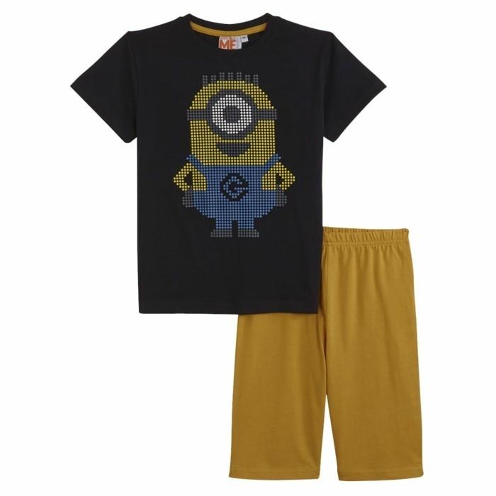 pijamas-été-enfant-14-99-Euros-Minion-mania-Auchan-resized