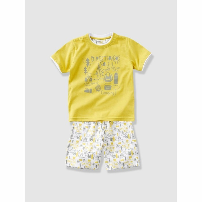 pijamas-été-enfant-15-95-Euros-Vertbaudet-La-Redoute-scene-de-camping-couleur-verte-resized