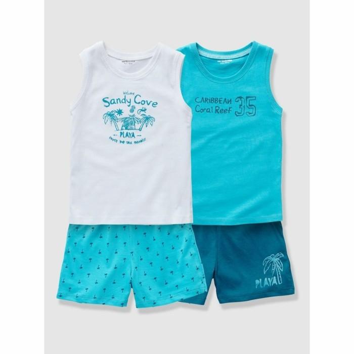 pijamas-été-enfant-19-90-Euros-lot-de-deux-La-Redoute-Vertbaudet-couleur-turquoise-resized