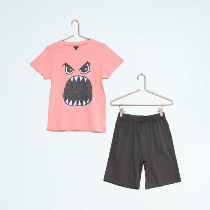 pijamas-été-enfant-Kiabi-court-6-Euros-a-la-phisionomie-de-monstre-resized