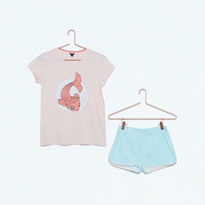 pijamas-été-enfant-Kiabi-poisson-couleur-saumon-8-Euros-resized