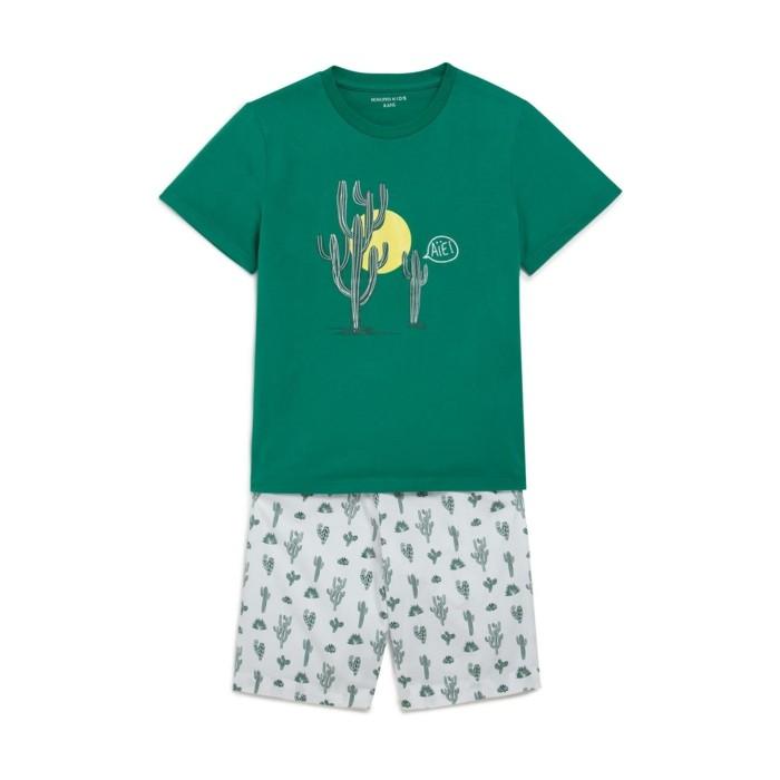pijamas-été-enfant-en-vert-Monoprix-resized