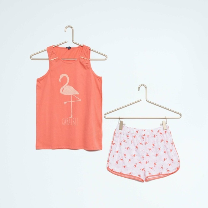 pijamas-été-enfant-fille-8-Euros-Kiabi-flamingo-resized