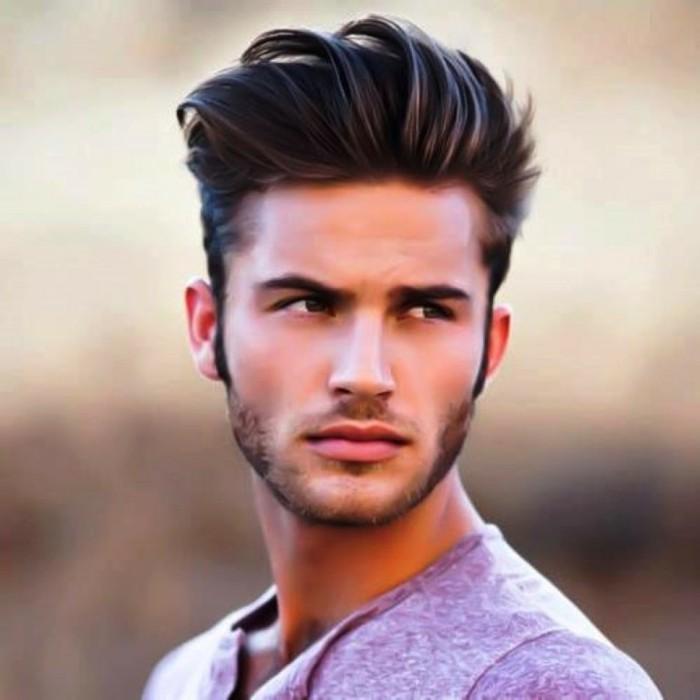 Technique de coupe de cheveux pour homme